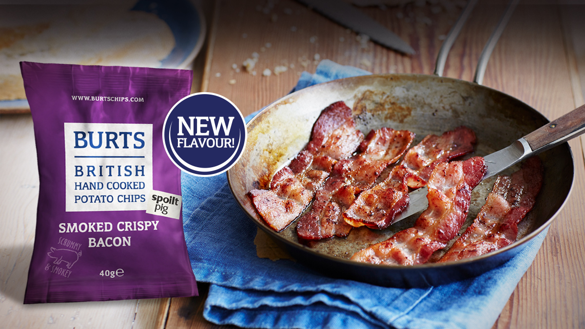 Burts New Smoked Crispy Bacon