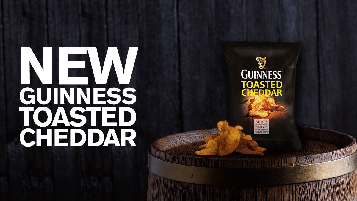 Guinness Toasted Cheddar Crisps