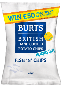 burts fish 'n' chips