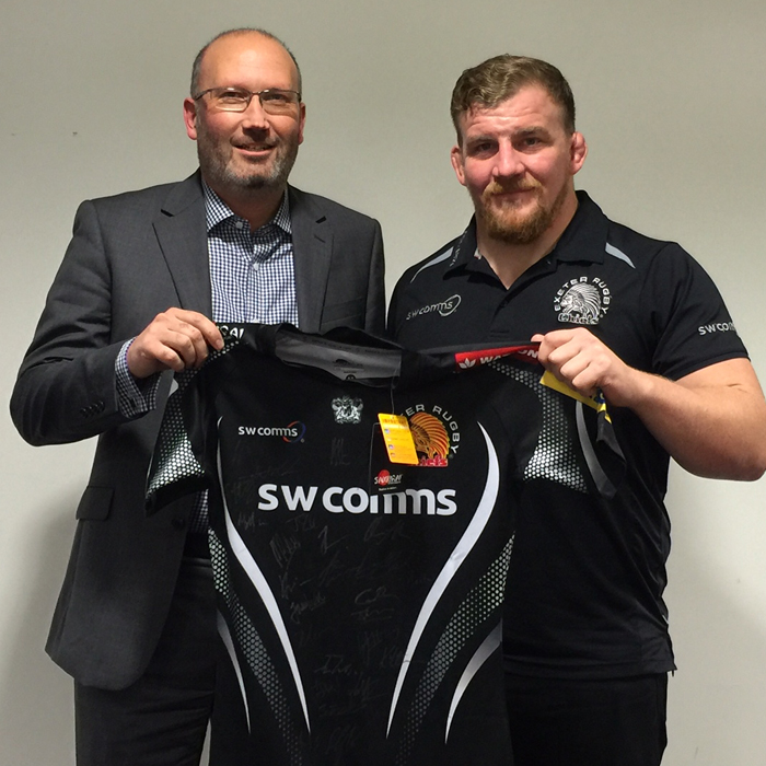 Burts sponsors The Exeter Chiefs