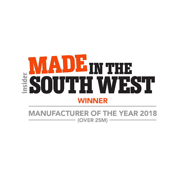 Made in the South West Manufacturer of the Year winner 2018