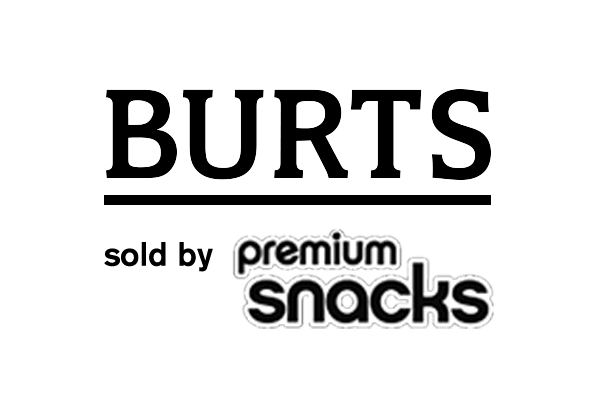 Burts sold by Premium Snacks Logo