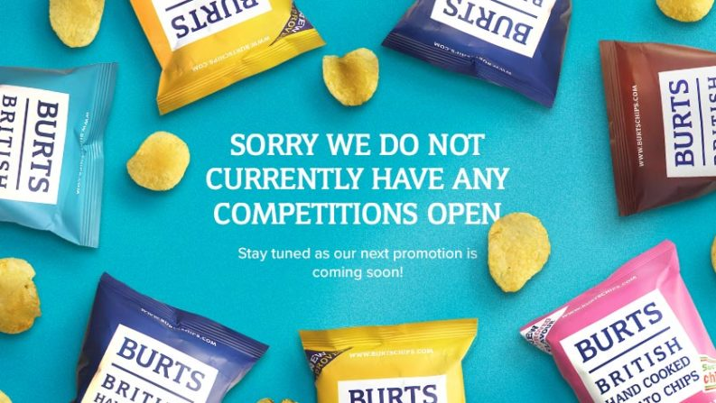 Burts Chips competitions