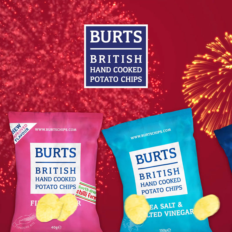 Burts Chips Bonfire Night