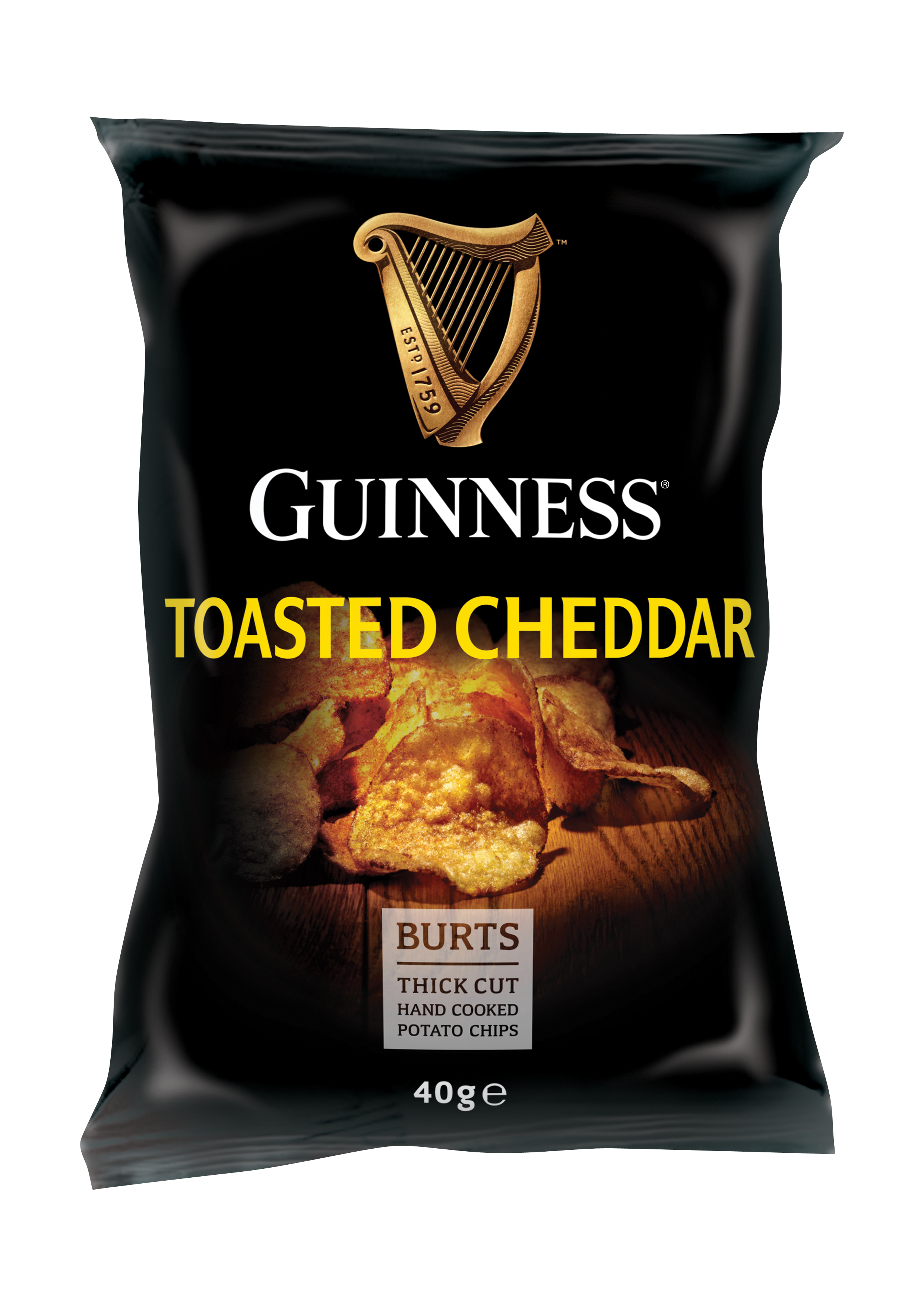 Burts Guinness Toasted Cheddar Potato Chips