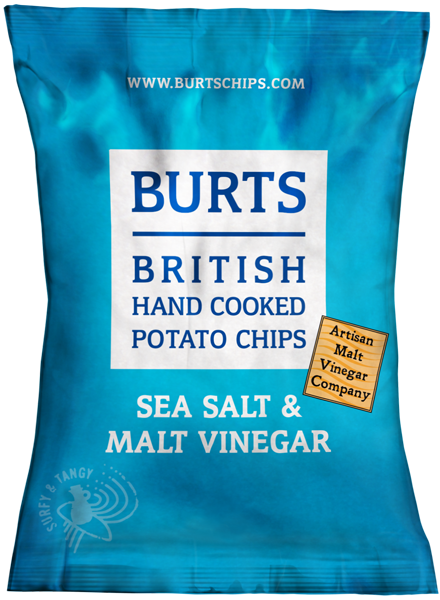 Burts Sea Salt & Malt Vinegar