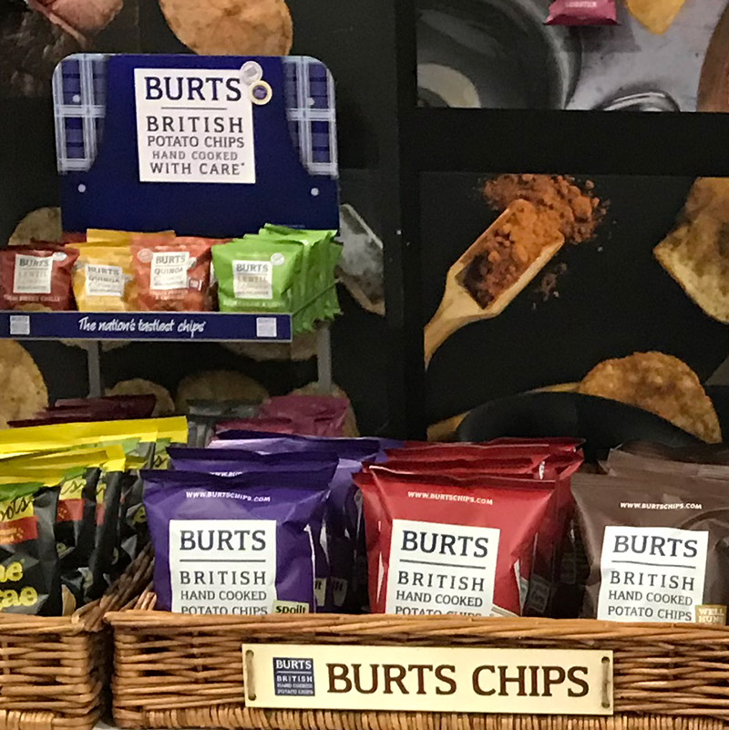 Stocking Burts Potato Chips