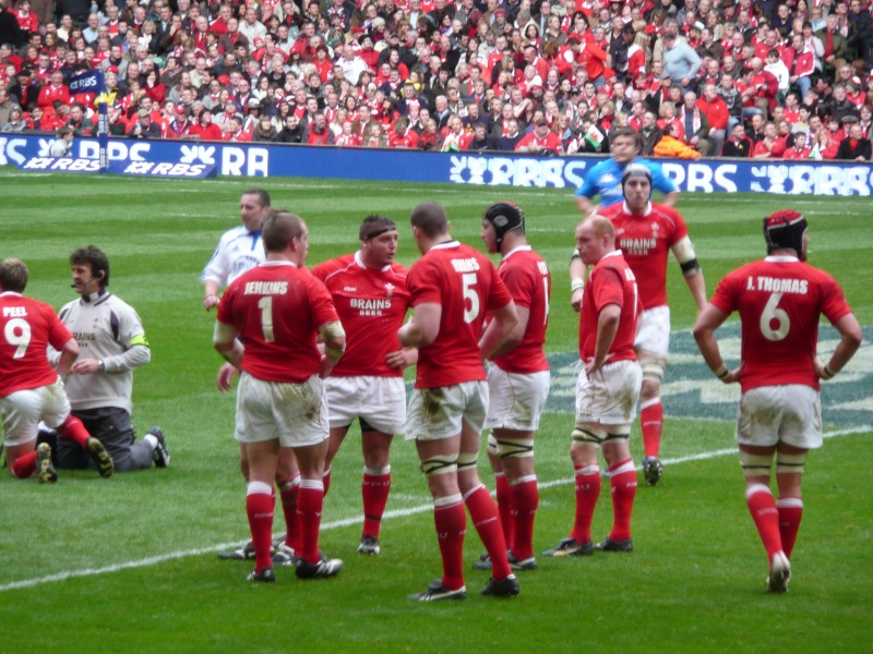 Wales Six Nation Rugby